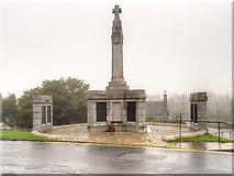 HU4741 : The War Memorial, Lerwick by David Dixon