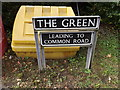 TM1791 : The Green sign by Adrian Cable
