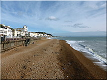 TQ8109 : Beach, Hastings by PAUL FARMER