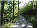NY3104 : Track and Off Road Cycle Route by Les Hull