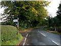 SO3717 : Old Ross Road heading east by Trevor Littlewood