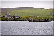 HU4841 : Shetland Islands, Bressay Ferry Terminal, by David Dixon