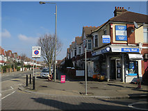 TQ2473 : Newsagents, Wimbledon Park Road by Hugh Venables