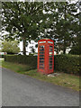 TM1689 : Telephone box on High Green by Adrian Cable