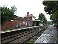 TM3877 : Platform 2, Halesworth Railway Station by JThomas