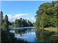 ST2885 : The lake, Tredegar House Country Park, Newport by Robin Drayton