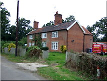 TM4584 : Houses on Waterloo Road, Sotterley by JThomas