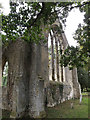 TM1685 : Remains of St.Mary's Church by Adrian Cable