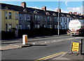 ST3089 : Yellow house, Malpas Road, Crindau, Newport by Jaggery
