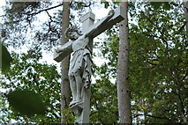 NS5420 : Crucifix Memorial, Dumfries House Estate by Billy McCrorie