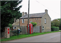 TL4279 : Sutton Gault: post and telephone by John Sutton