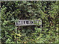 TM1383 : Mill Road sign by Adrian Cable