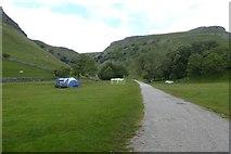 SD9163 : Gordale Farm campsite by DS Pugh