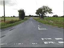 TM0993 : Old Buckenham Road, Carleton Rode by Adrian Cable