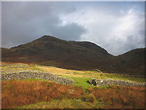 NY2101 : The south west gate of Hardknott Roman fort by Karl and Ali
