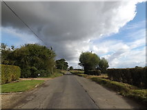 TM0993 : Mill Road, Carleton Rode by Adrian Cable