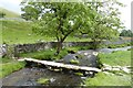 SD8963 : Small bridge over Malham Beck by DS Pugh