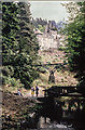 NU0702 : NT Cragside House and iron bridge by Mike Dodman