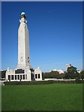 SX4753 : War Memorial Plymouth Hoe by Roy Hughes