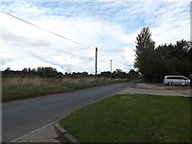 TM1093 : Mill Road, Carleton Rode by Adrian Cable