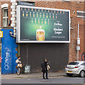 J3373 : 'Carlsberg' advert, Belfast by Rossographer