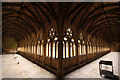 SK9771 : Cathedral cloisters by Richard Croft