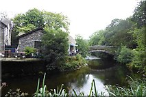 NY3307 : Stock Lane Bridge by DS Pugh