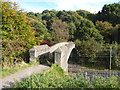 SJ8353 : Footbridge across WCML in Bathpool Park by Jonathan Hutchins