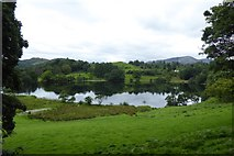 NY3404 : Loughrigg Tarn and Little Loughrigg by DS Pugh