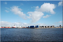 NJ9505 : Clouds over Aberdeen Harbour by Bill Harrison