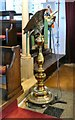 SD3439 : St Chad's Eagle Lectern by Gerald England