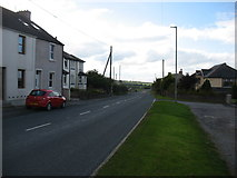 NY0638 : The A596 leaving Crosby by David Purchase