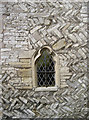 ST7274 : Herringbone church wall by Neil Owen