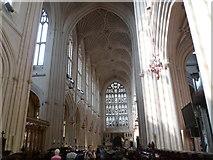 ST7564 : Bath Abbey interior by Meirion