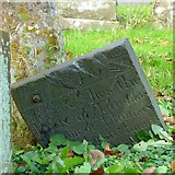 SK7431 : Belvoir Angel headstone, Harby Churchyard by Alan Murray-Rust