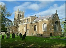 SK7431 : Church of St Mary the Virgin, Harby by Alan Murray-Rust