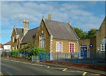 SK7431 : Harby Church of England Primary School by Alan Murray-Rust