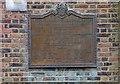 TQ2987 : Plaque, Hornsey Lane Estate by Jim Osley
