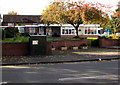 SJ6551 : Telecoms cabinet, Pillory Street, Nantwich by Jaggery