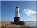 NU0152 : The lighthouse at Berwick-upon-Tweed by John Slater