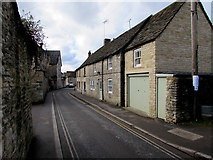 SO8700 : Narrow part of Butt Street, Minchinhampton by Jaggery