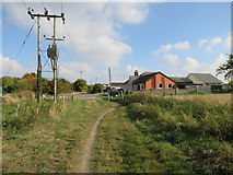 TL3142 : Ashwell Street passing Litlington by Hugh Venables