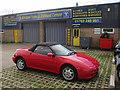 TL3441 : Royston Tyres & Exhaust Centre by Hugh Venables