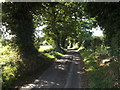 TG0723 : Old Lane, Kerdiston by Geographer