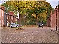 SJ9097 : Fairfield Moravian Settlement, The Square by David Dixon
