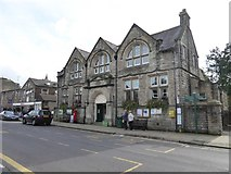 SD8789 : The Market Hall, Hawes by David Smith