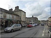 SD8789 : Shops in Turfy Hill, Hawes by David Smith