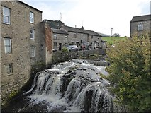 SD8789 : Waterfall in Hawes by David Smith