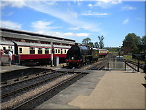 TQ4023 : South end of Sheffield Park station by Richard Vince