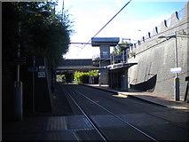 SO9596 : Bilston Central tram stop by Richard Vince